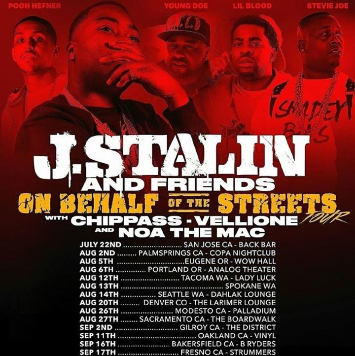 J Stalin Tour Dates
