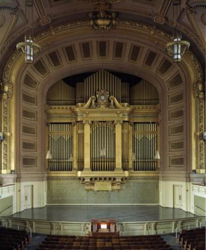Bradley Burgess, pianist & organist @ Woolsey Hall - New Haven, CT