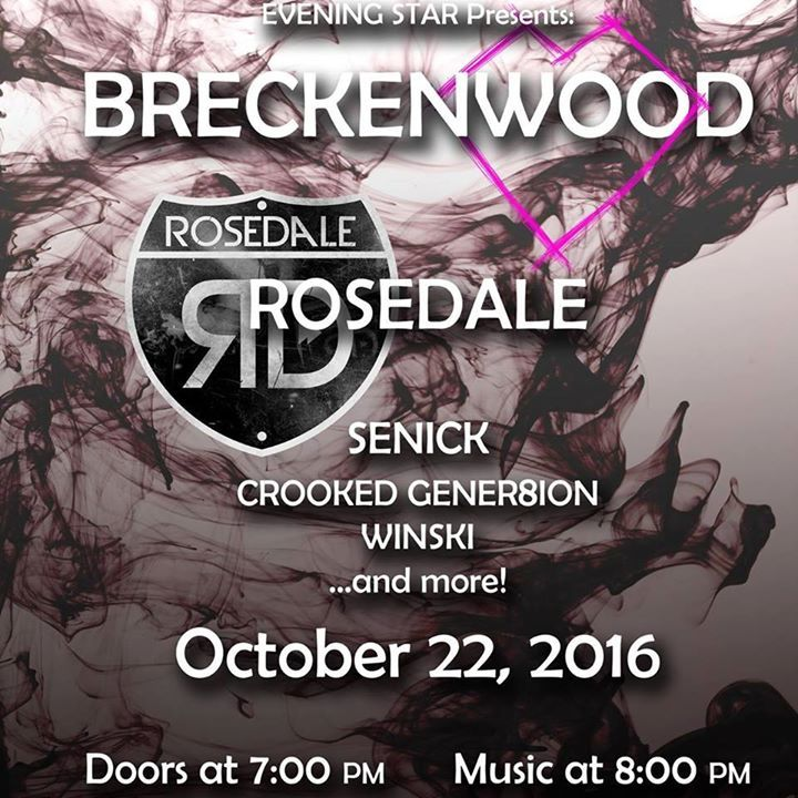 Breckenwood Tour Dates