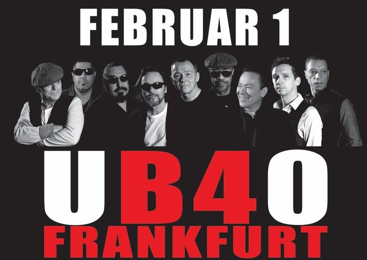 UB40 @ Batschkapp  - Frankfurt, Germany