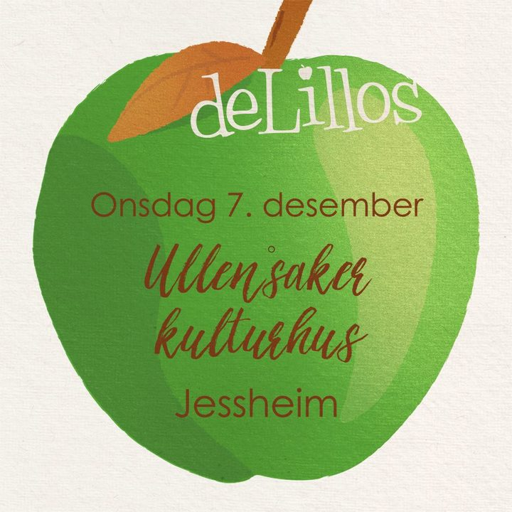 deLillos @ Ullensaker Kulturhus - Jessheim, Norway