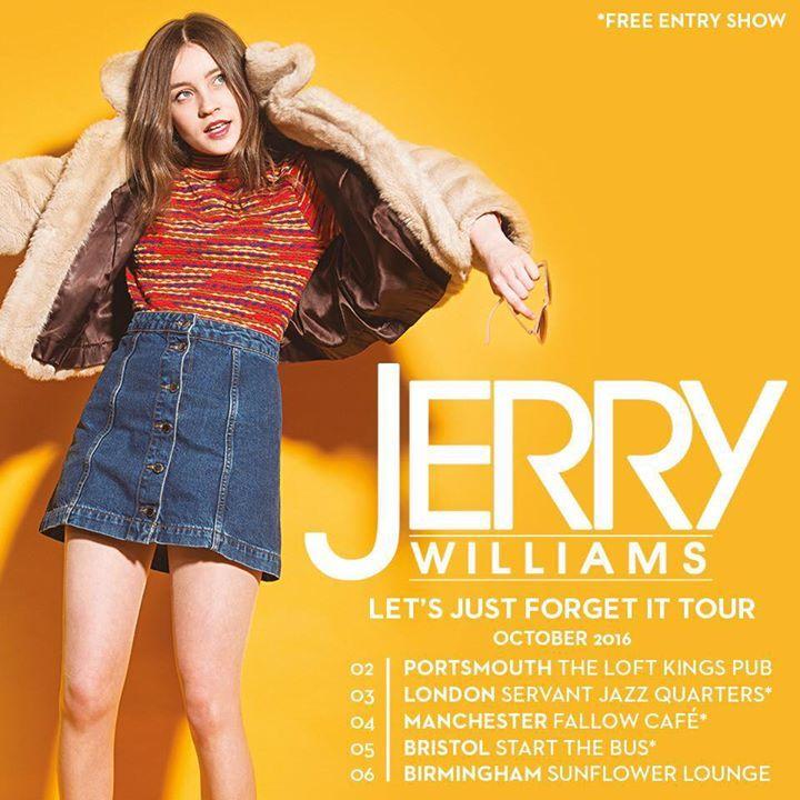 Jerry Williams Tour Dates