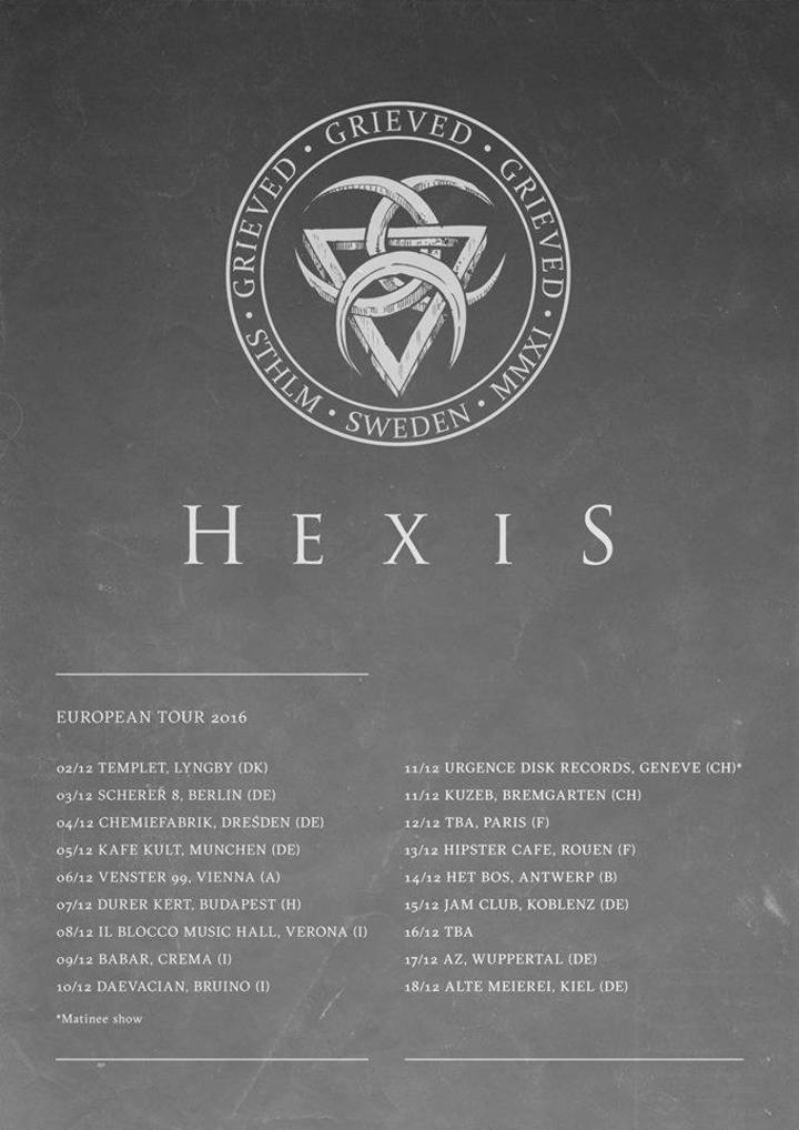 Hexis @ Kafe Kult - Munich, Germany