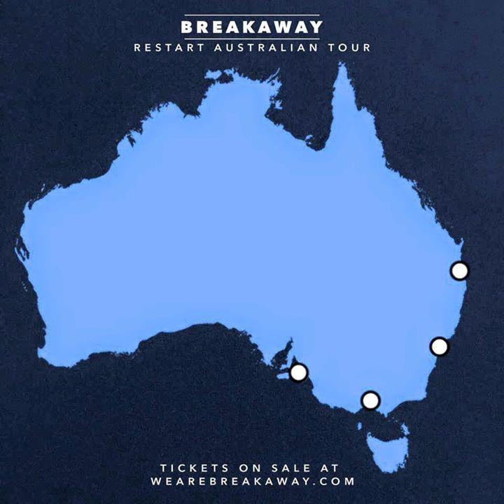 BREAKAWAY Tour Dates
