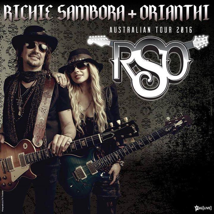 RSO feat. Richie Sambora & Orianthi Tour Dates