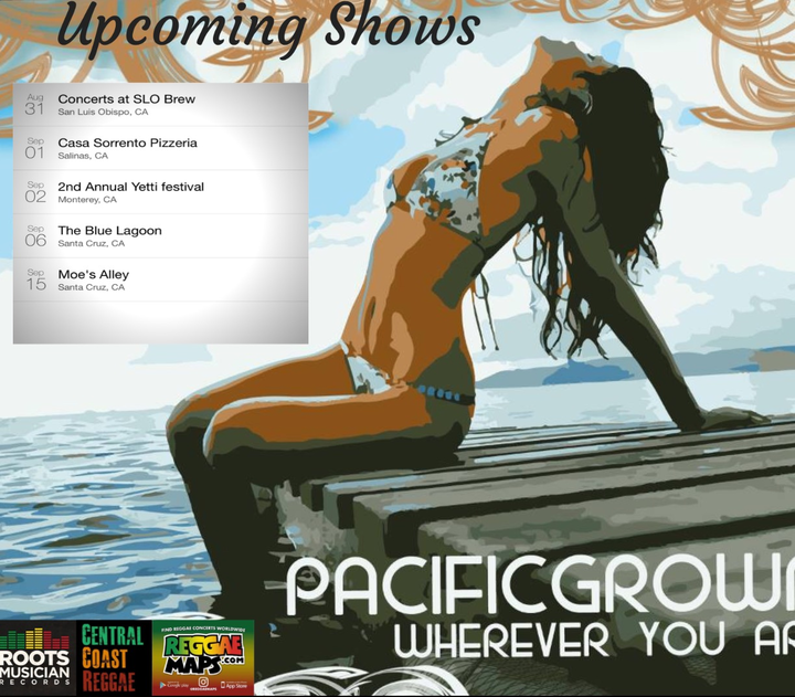 Pacific Grown Tour Dates