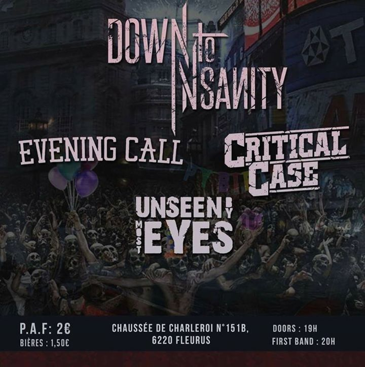 Unseen By Most Eyes Tour Dates