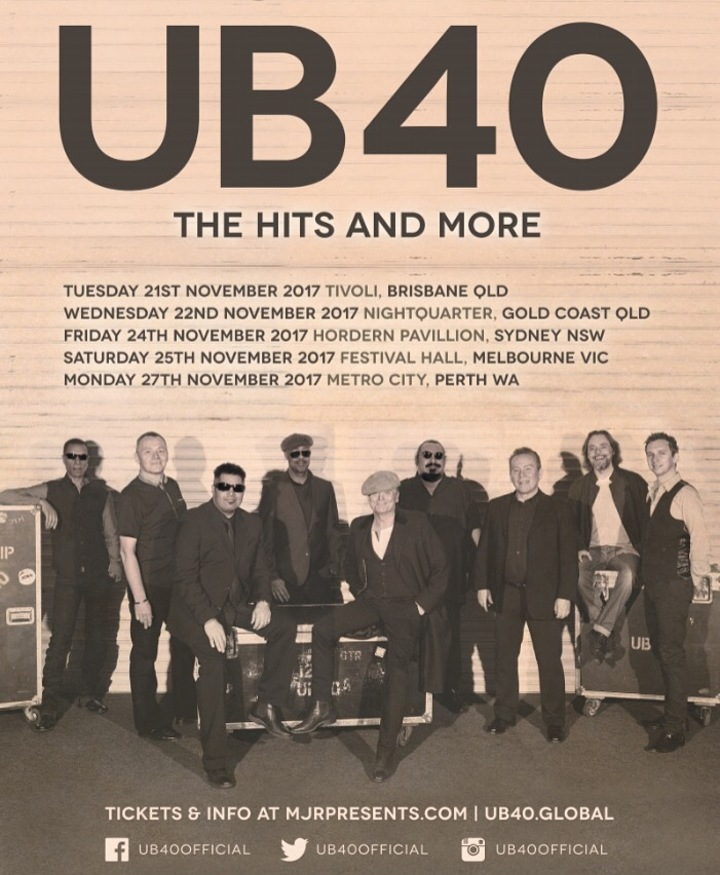 UB40 @ The Tivoli - Brisbane, Australia