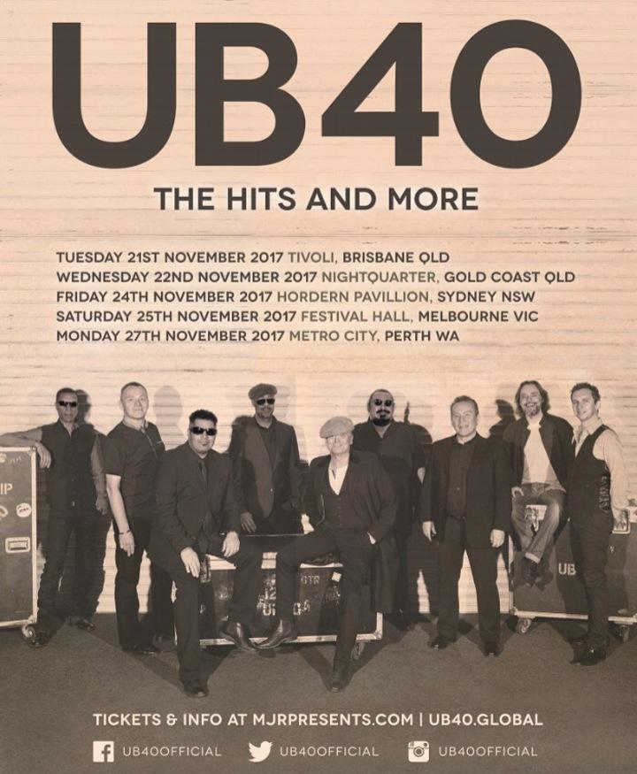 UB40 @ Metro City - Northbridge, Australia