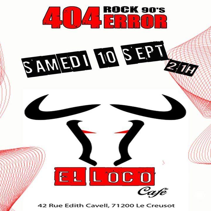 404 Error Tour Dates