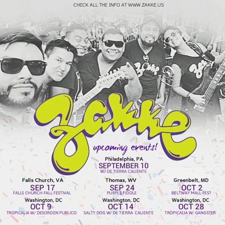 Zakke Tour Dates