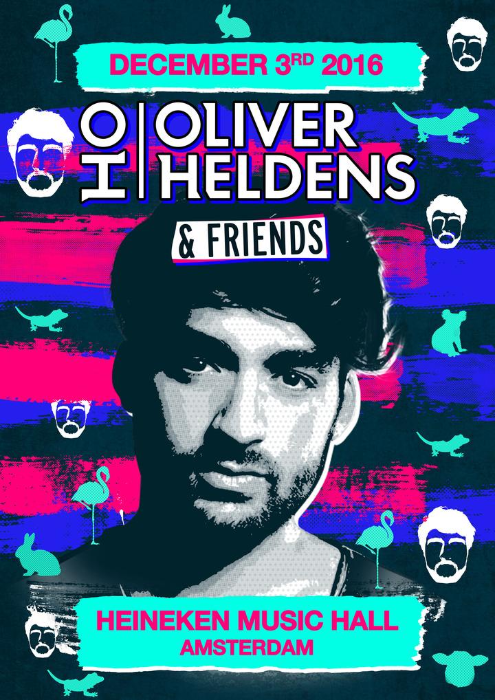 Oliver Heldens @ afas live - Amsterdam-Zuidoost, Netherlands