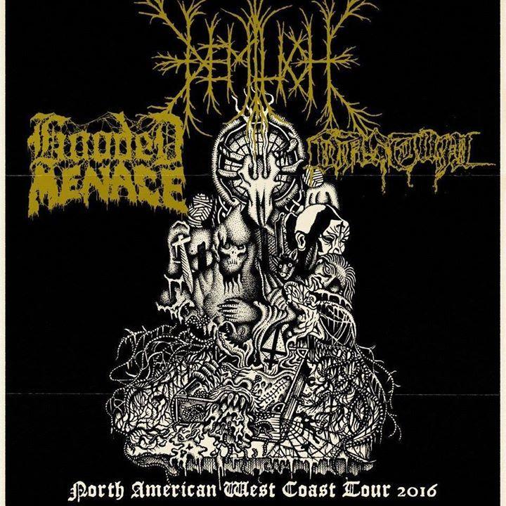 Hooded Menace Tour Dates