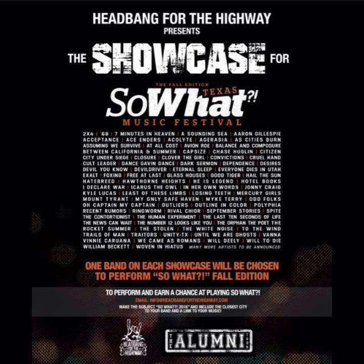 Headbang for the Highway Tour Dates