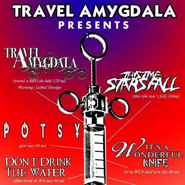 Travel Amygdala Tour Dates