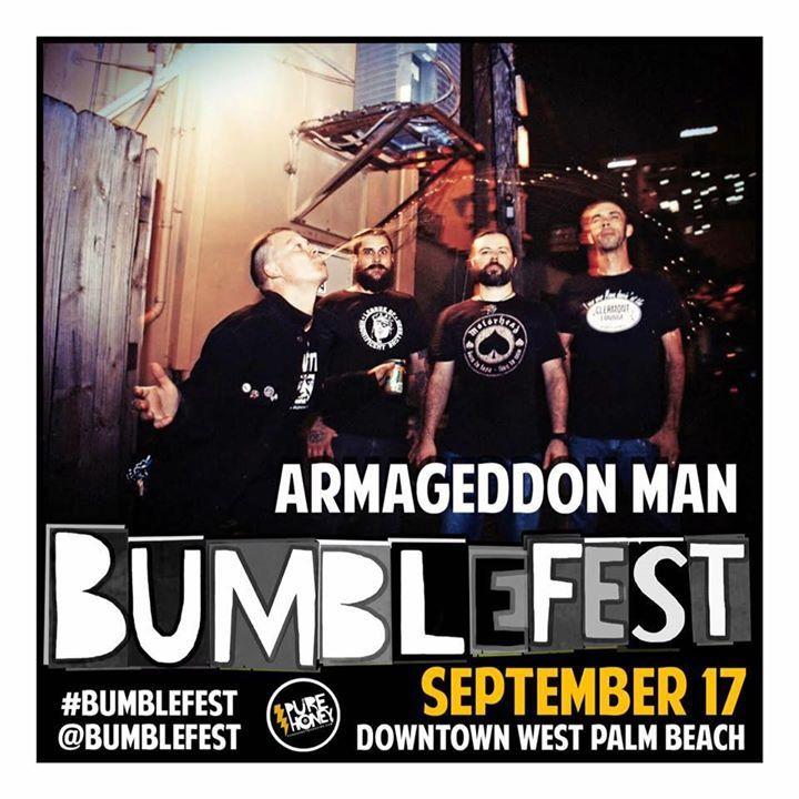 Armageddon Man Tour Dates