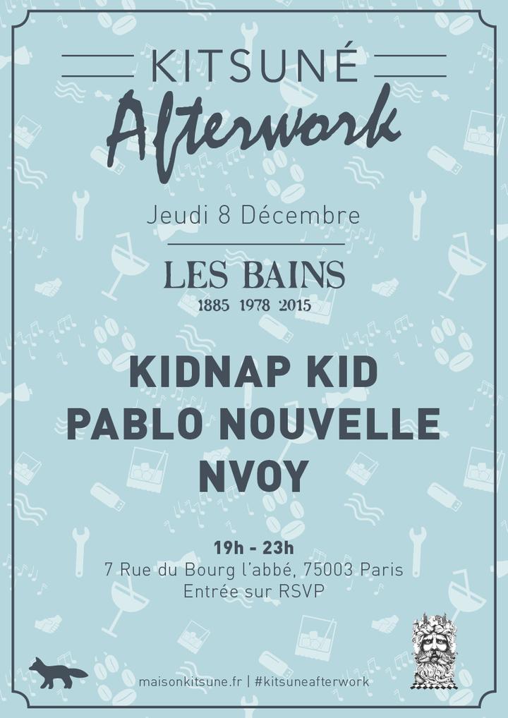 KITSUNE @ Les Bains - Paris, France