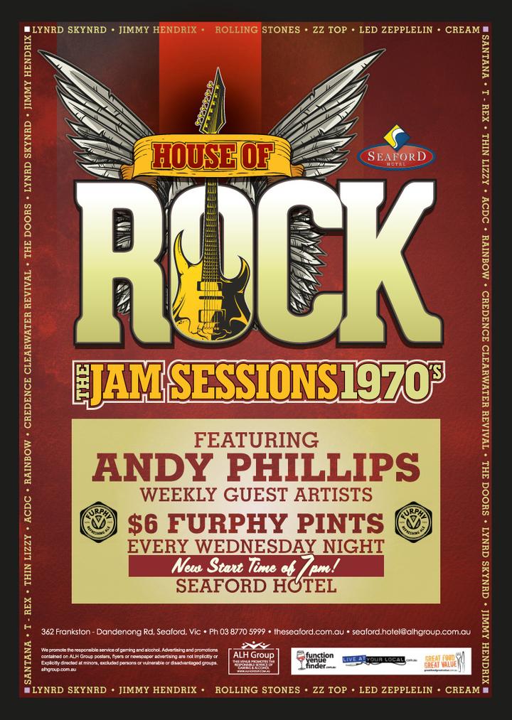 Andy Phillips & The Cadillac Walk @ Seaford Hotel, 362 Frankston-Dandenong Rd, 3198 - Seaford, Australia