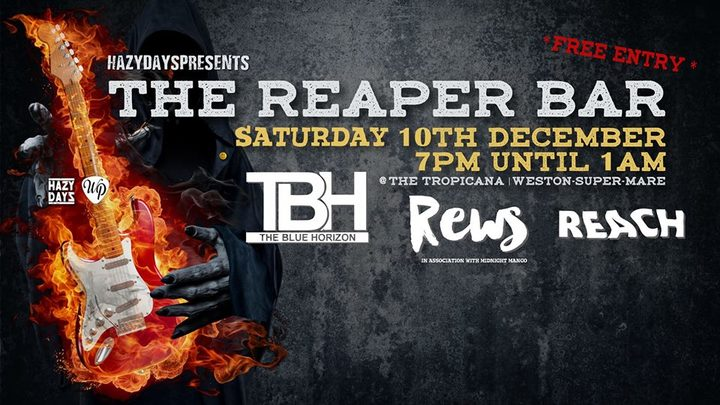 Iain Eccleston & The Blue Horizon @ The Reaper Bar - Weston-Super-Mare, United Kingdom