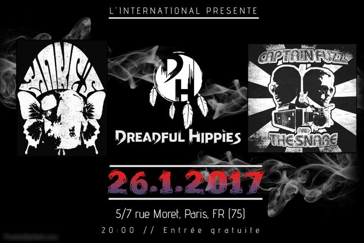Dreadful Hippies @ L'international - Paris, France