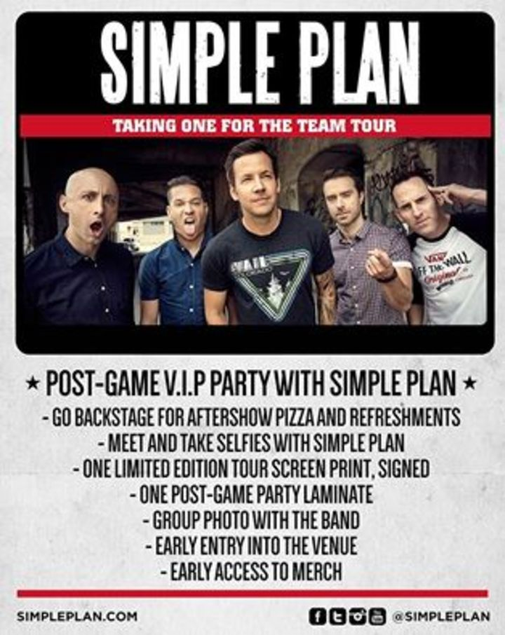 Simple Plan @ Yacht and Boat Club - Lambare, Paraguay