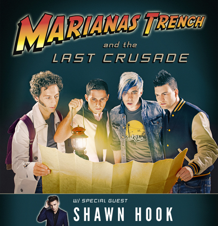 Marianas Trench @ CN Centre - Prince George, Canada