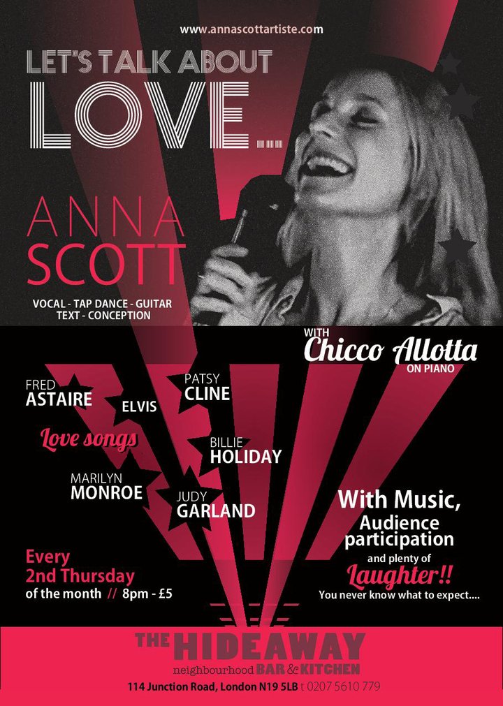 anna scott @ The Hideaway - London, United Kingdom