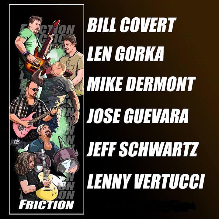 Friction (US) Tour Dates