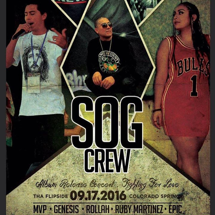 The S.O.G. Crew Tour Dates