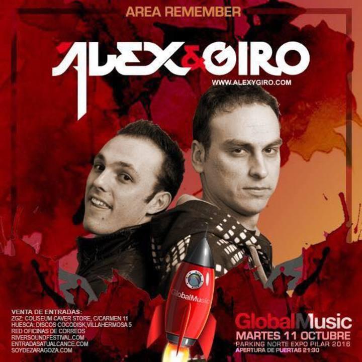 Alex y Giro Tour Dates
