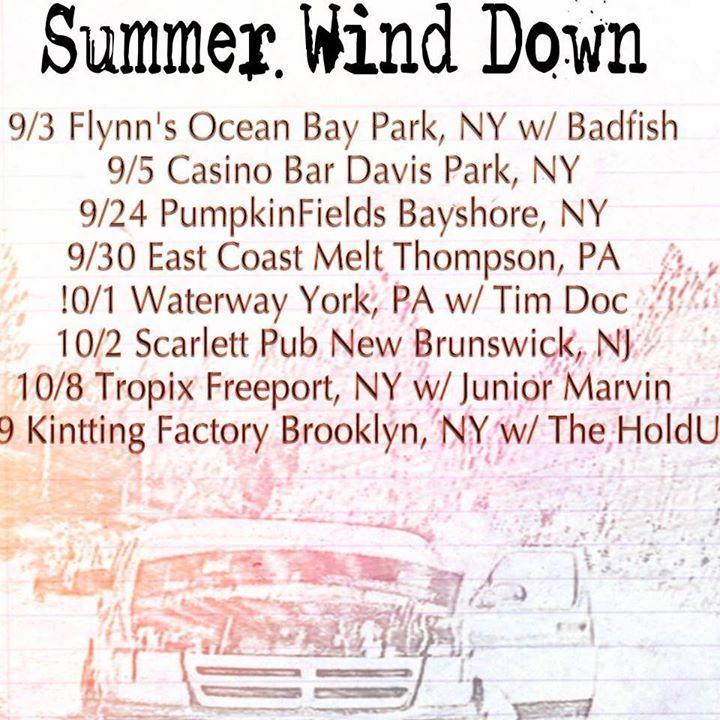 Oogee Wawa Tour Dates