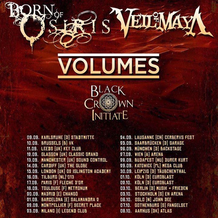 Black Crown Initiate Tour Dates