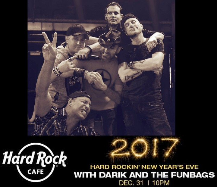 Darik and the Funbags @ New Years Eve! Hardrock Cafe - Foxwoods - Ledyard, CT