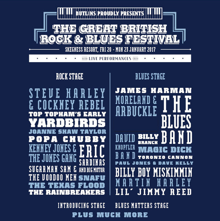 Toronzo Cannon Chicago Blues-man @ Skegness Resort - Skegness, United Kingdom