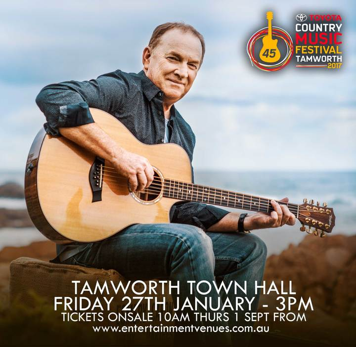 Graeme Connors @ Tamworth Town Hall - Tamworth, Australia