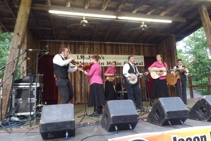 Salt and Light the Moore Family Band @ Little John's Mountain Music Festival - Snow Camp, NC