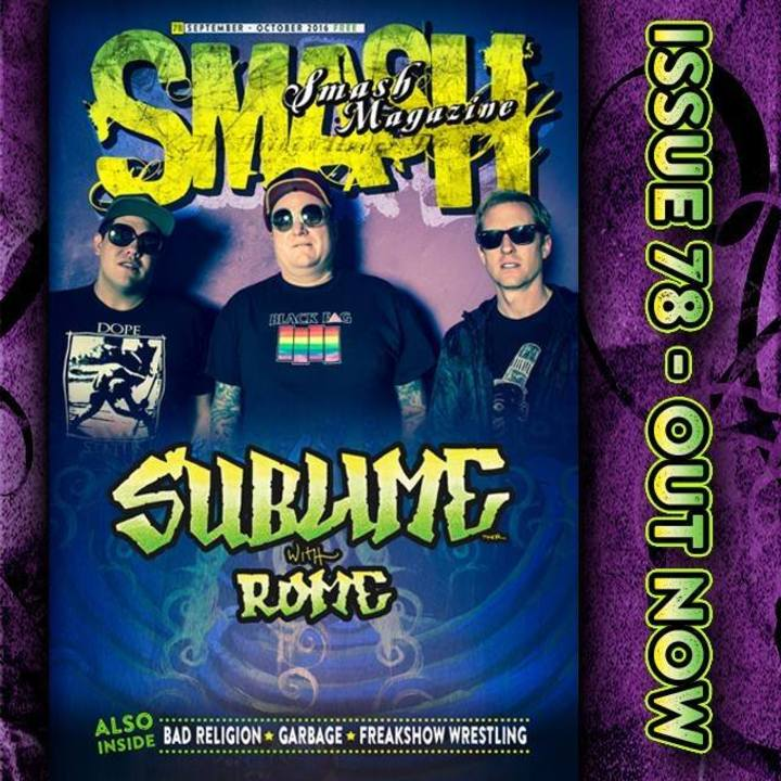Smash Magazine Tour Dates