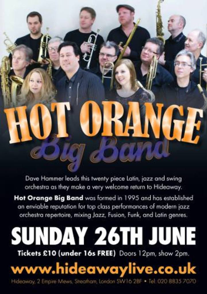 Hot Orange Tour Dates