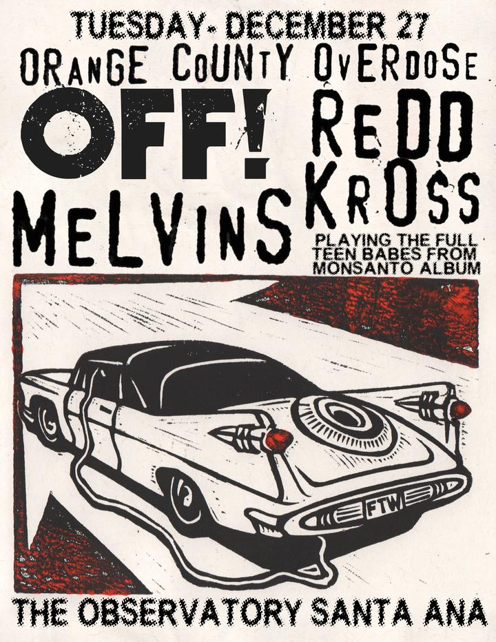 Melvins @ The Observatory - Santa Ana, CA