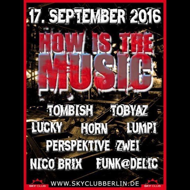 DJ Tombish Tour Dates