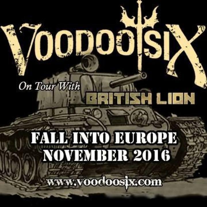 Voodoo Six @ Markthalle - Hamburg (Altstadt), Germany
