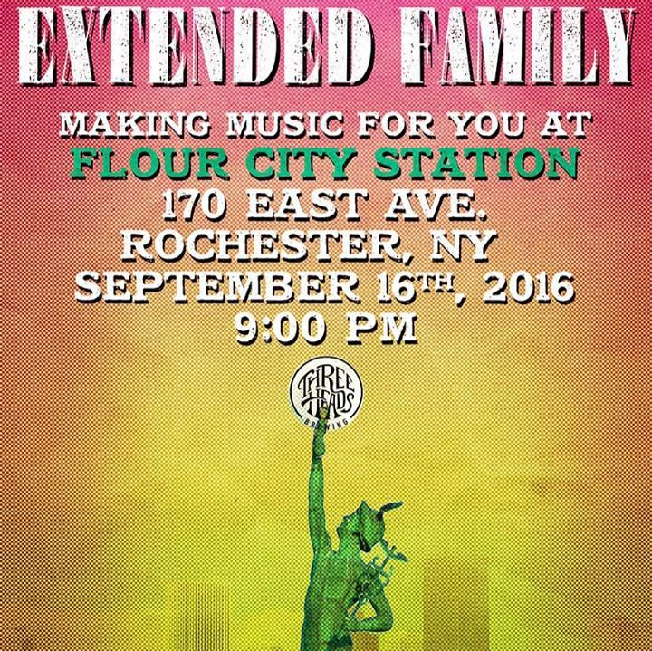 Extended Family Tour Dates