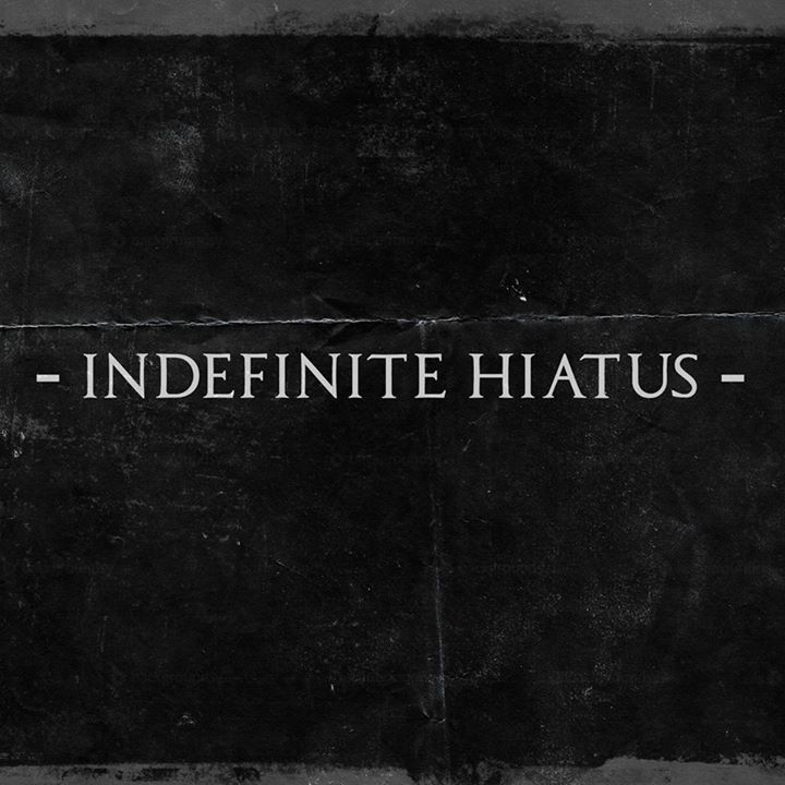 Indefinite Hiatus Tour Dates