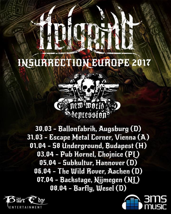 Helgrind @ Escape Metalcorner - Vienna, Austria
