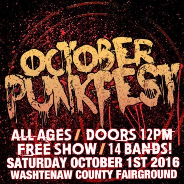 October Punk Fest Tour Dates