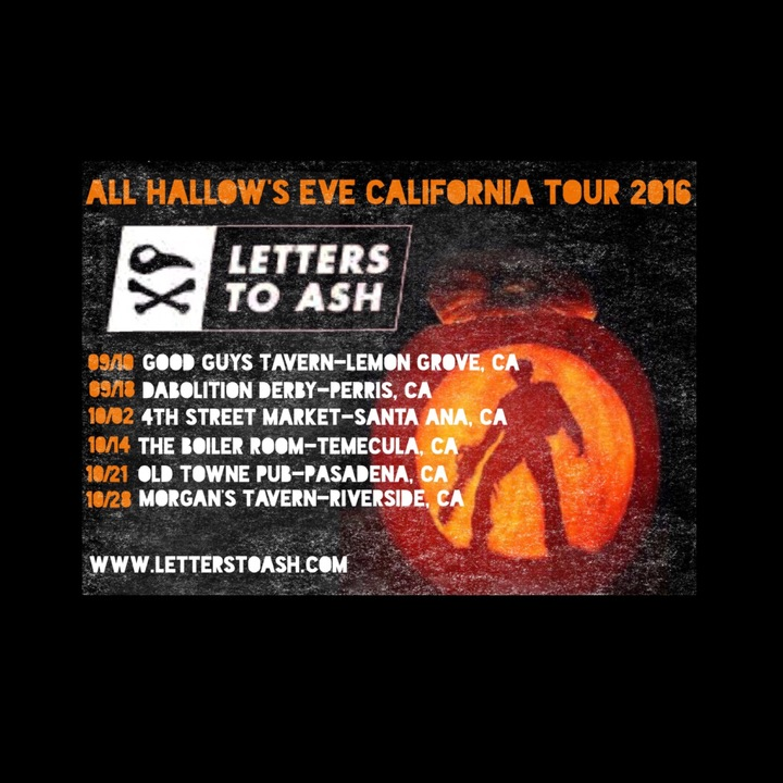 Letters to Ash Tour Dates