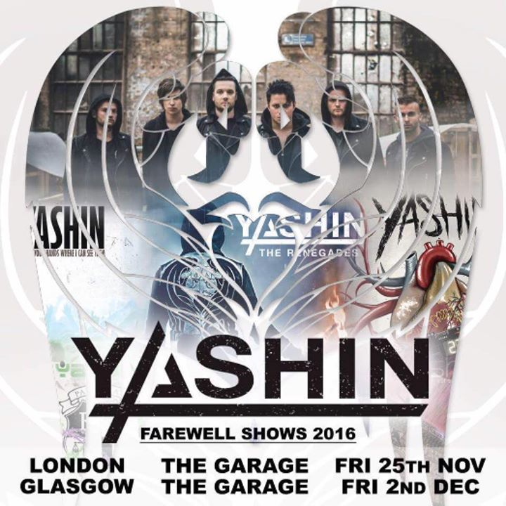 Yashin @ Glasgow Garage - Glasgow, United Kingdom
