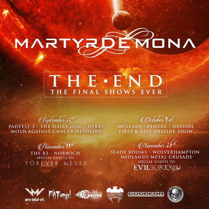 Martyr De Mona Tour Dates