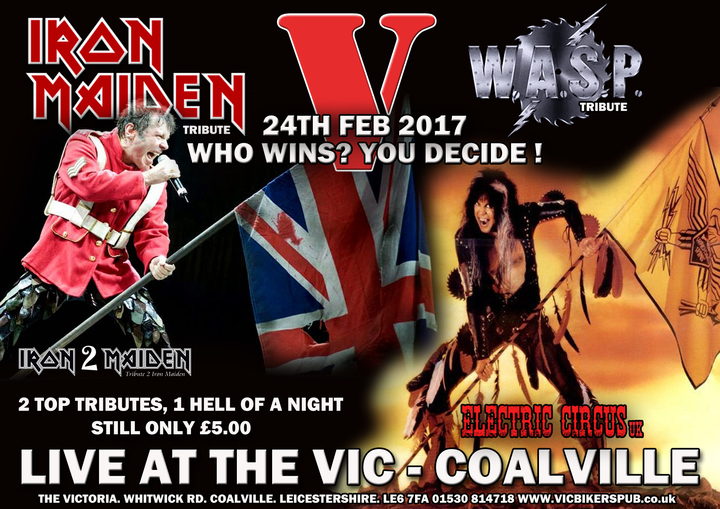 Electric Circus UK @ The Vic  - Coalville, United Kingdom