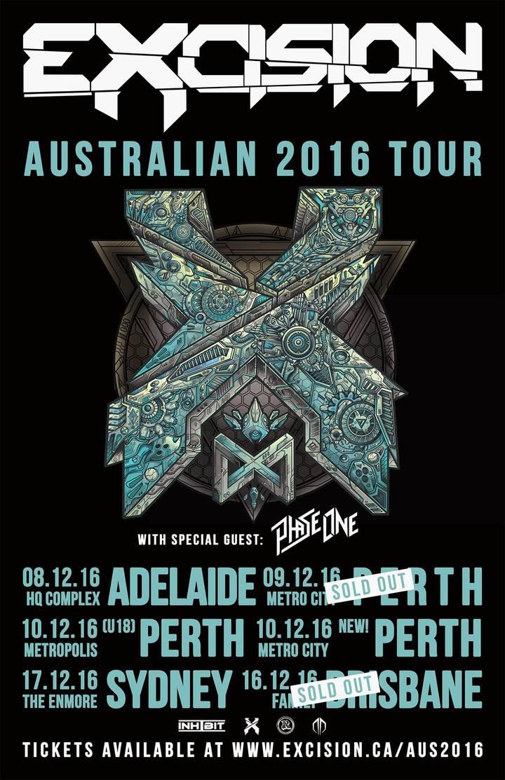 PhaseOne @ Metropolis - Fremantle, Australia